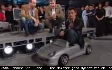 The Hamster gets Hypnotized on Top Gear